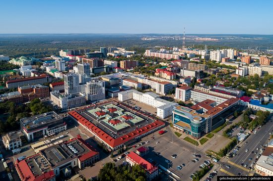 Ufa - the view from above, Russia, photo 8