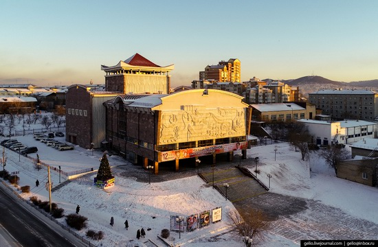 Ulan-Ude, Russia - the view from above, photo 12