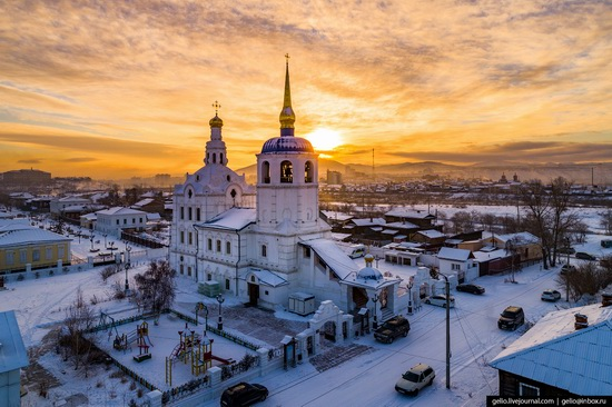 Ulan-Ude, Russia - the view from above, photo 13