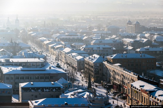 Ulan-Ude, Russia - the view from above, photo 14