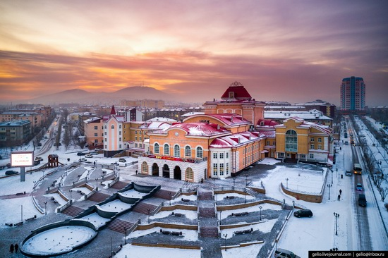 Ulan-Ude, Russia - the view from above, photo 16
