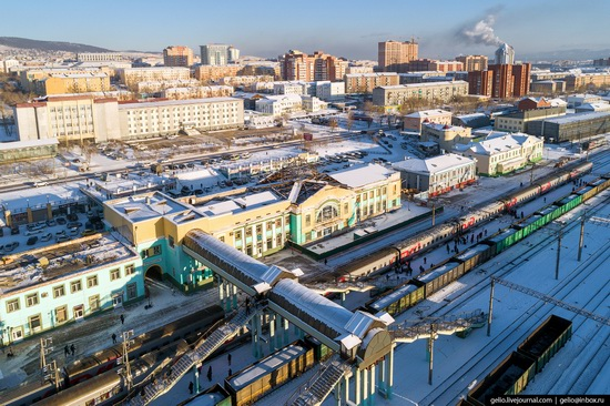 Ulan-Ude, Russia - the view from above, photo 17
