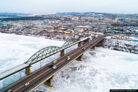 Ulan-Ude, Russia - the view from above, photo 18