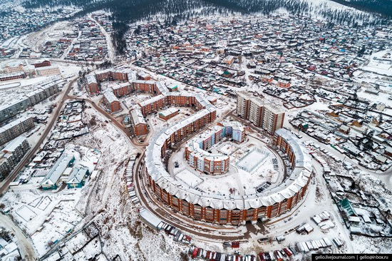Ulan-Ude, Russia - the view from above, photo 19