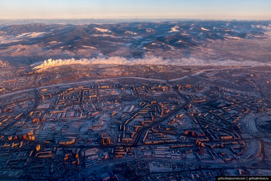 Ulan-Ude, Russia - the view from above, photo 20