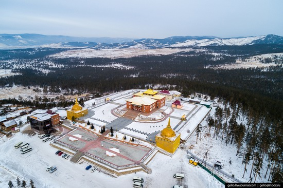 Ulan-Ude, Russia - the view from above, photo 22