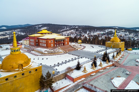 Ulan-Ude, Russia - the view from above, photo 23
