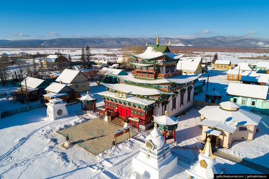 Ulan-Ude, Russia - the view from above, photo 24