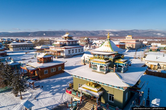 Ulan-Ude, Russia - the view from above, photo 25