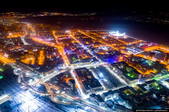 Ulan-Ude, Russia - the view from above, photo 3