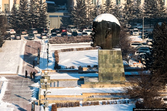 Ulan-Ude, Russia - the view from above, photo 4