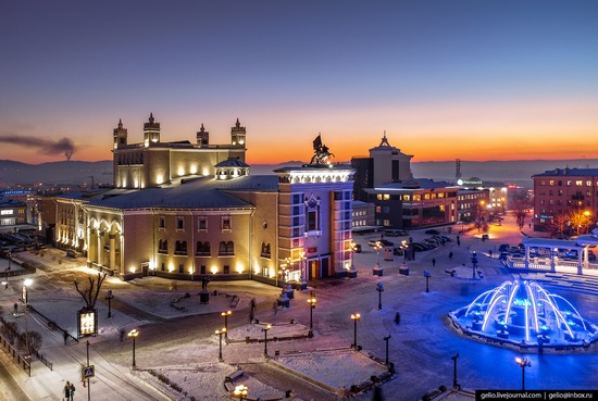 Ulan-Ude, Russia - the view from above, photo 5