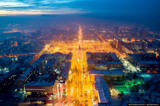 Chita - the view from above, Russia, photo 12