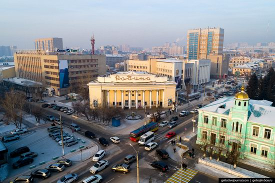 Chita - the view from above, Russia, photo 13