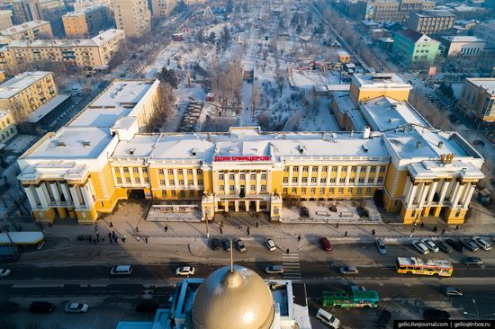 Chita - the view from above, Russia, photo 16