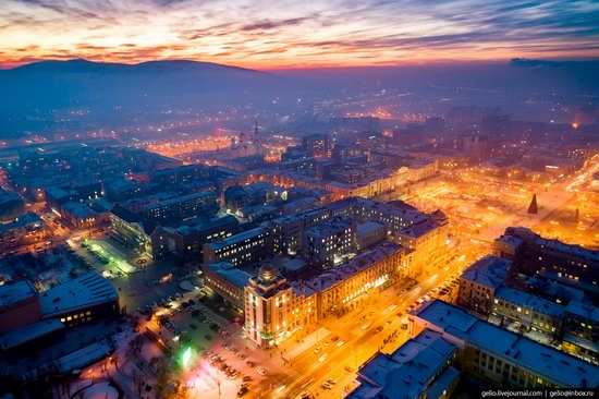 Chita - the view from above, Russia, photo 17
