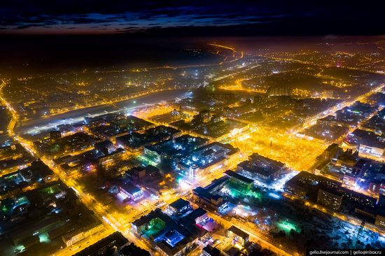 Chita - the view from above, Russia, photo 2