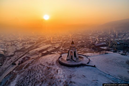 Chita - the view from above, Russia, photo 21