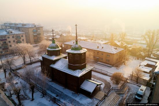 Chita - the view from above, Russia, photo 24