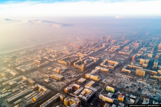 Chita - the view from above, Russia, photo 25