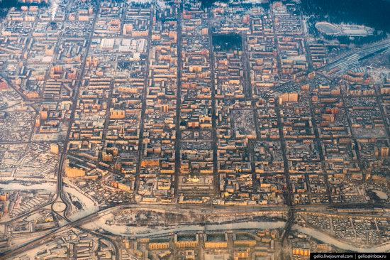 Chita - the view from above, Russia, photo 3