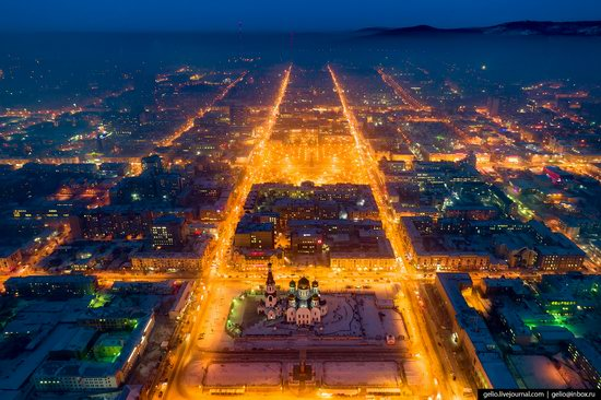 Chita - the view from above, Russia, photo 4