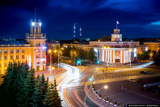 Kemerovo, Russia - the view from above, photo 1