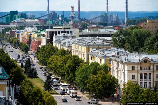 Kemerovo, Russia - the view from above, photo 10