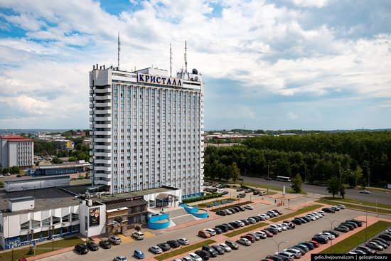 Kemerovo, Russia - the view from above, photo 15