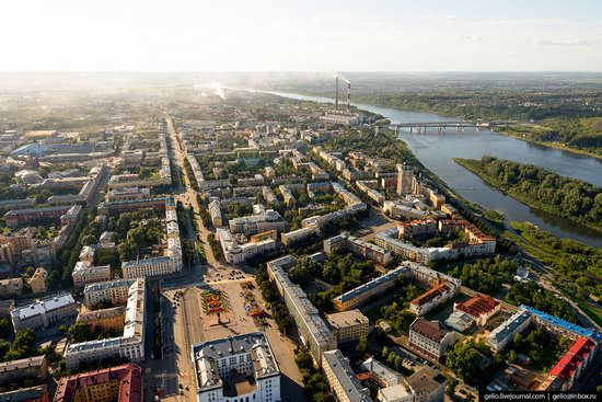 Kemerovo, Russia - the view from above, photo 18