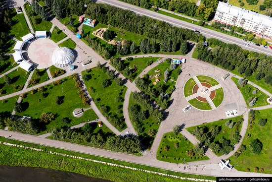 Kemerovo, Russia - the view from above, photo 19