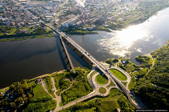 Kemerovo, Russia - the view from above, photo 22