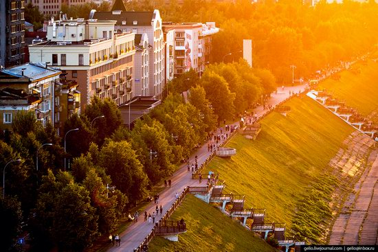 Kemerovo, Russia - the view from above, photo 24