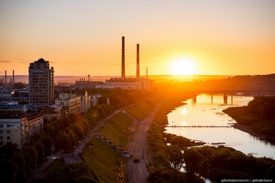 Kemerovo, Russia - the view from above, photo 25