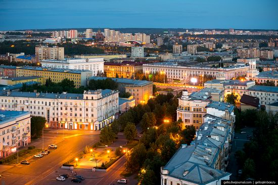 Kemerovo, Russia - the view from above, photo 3