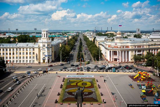 Kemerovo, Russia - the view from above, photo 5