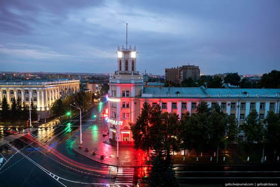 Kemerovo, Russia - the view from above, photo 9