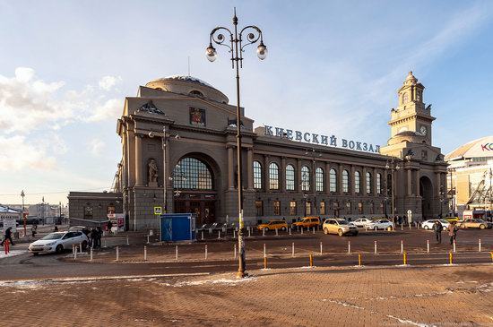 Kiev Railway Station in Moscow, Russia, photo 1