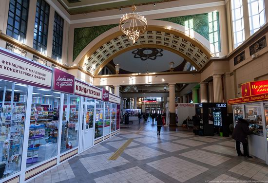 Kiev Railway Station in Moscow, Russia, photo 6