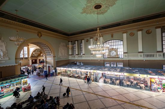 Kiev Railway Station in Moscow, Russia, photo 9