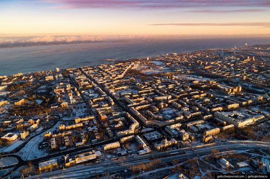 Petrozavodsk, Russia - the view from above, photo 1