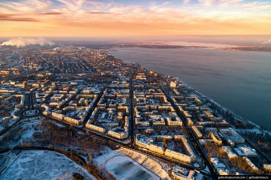 Petrozavodsk, Russia - the view from above, photo 10