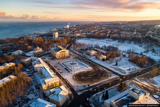 Petrozavodsk, Russia - the view from above, photo 14