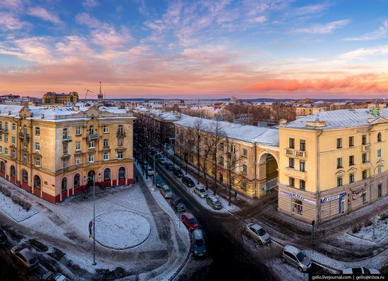 Petrozavodsk, Russia - the view from above, photo 16