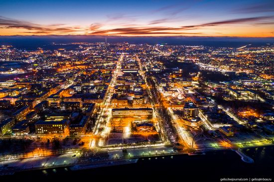 Petrozavodsk, Russia - the view from above, photo 17
