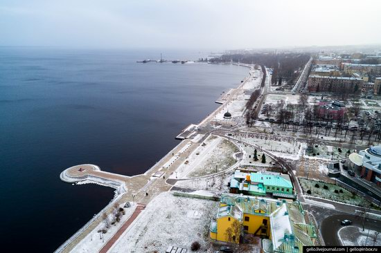 Petrozavodsk, Russia - the view from above, photo 18