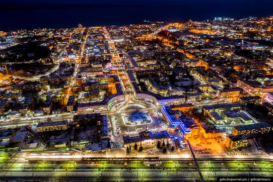 Petrozavodsk, Russia - the view from above, photo 2