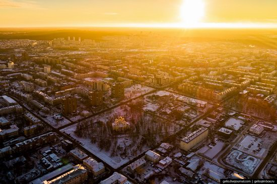 Petrozavodsk, Russia - the view from above, photo 23