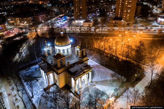 Petrozavodsk, Russia - the view from above, photo 24