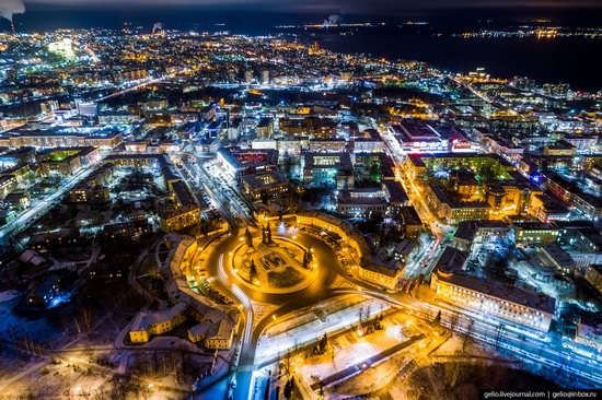 Petrozavodsk, Russia - the view from above, photo 28